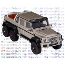 Mercedes-Benz G63 AMG W463 6x6 (grey metallic), модель 1/43